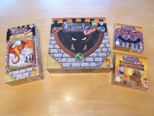 Castle Panic and Expansions Review