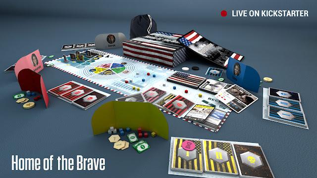 Kickstarter Spotlight Home of the Brave