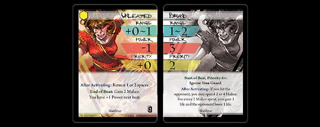 Kickstarter Board Game Card Game BattleCON Unleashed Level 99 Games