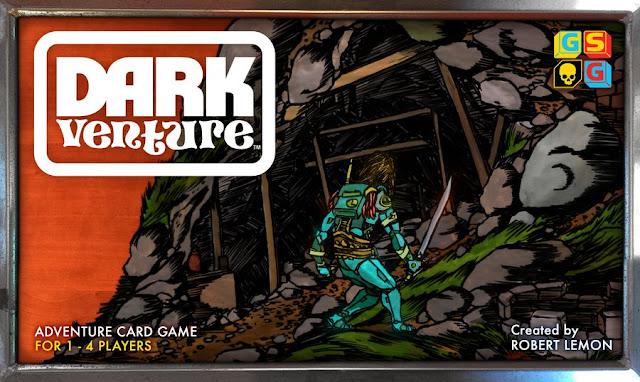 Dark Venture Adventure Card Game Cover Art
