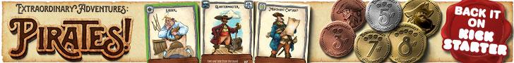 Extraordinary Adventures: Pirates! by Forbidden Games Kickstarter Spotlight