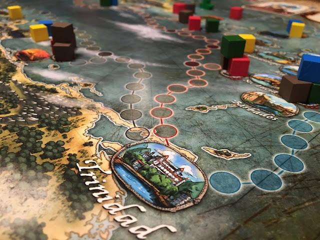 Extraordinary Adventures: Pirates! Kickstarter Spotlight. Board game by Forbidden Games. Photo by Benjamin Kocher