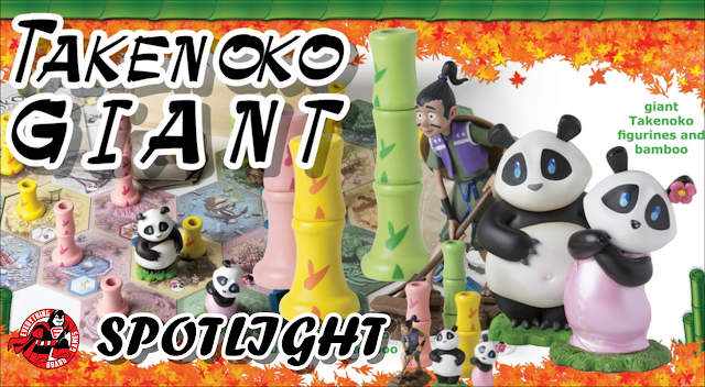 Takenoko Giant Kickstarter Spotlight