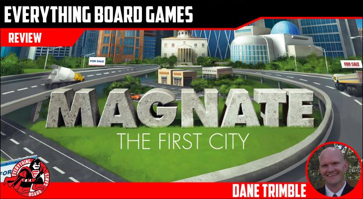 Magnate: The First City Kickstarter Preview