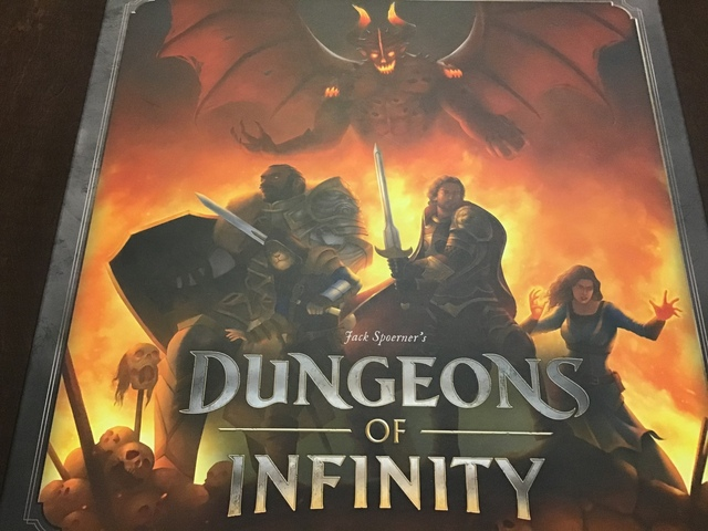 Dungeons of Infinity Kickstarter Preview with links