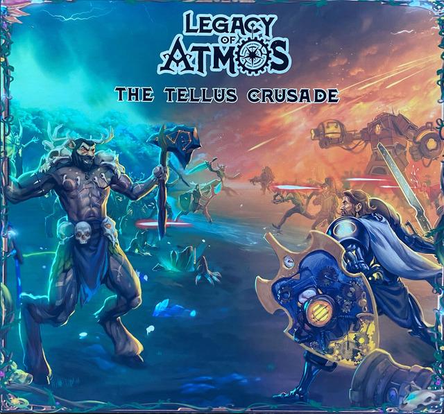 Legacy of Atmos: The Tellus Crusade Kickstarter Preview