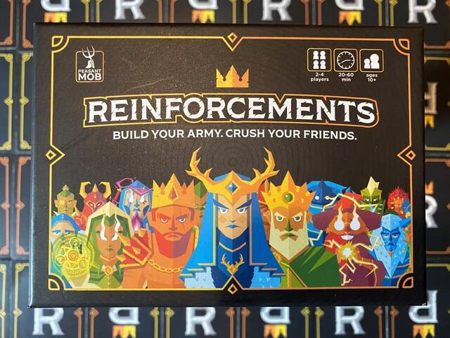 Reinforcements Card Game Kickstarter Preview